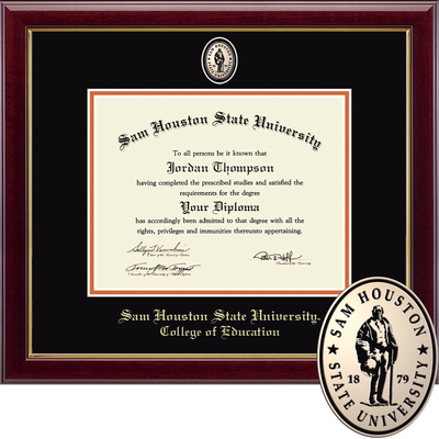 Church Hill Classics Masterpiece Diploma Frame. College of Education (Online Only)