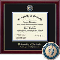 Church Hill Classics Masterpiece Diploma Frame. College of Pharmacy (Online Only)