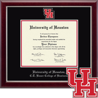 Church Hill Classics Masterpiece Diploma Frame. C.T. Bauer College of Business (Online Only)
