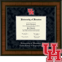 Church Hill Classics Presidential Diploma Frame. Cullen College of Engineering (Online Only)