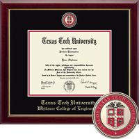 Church Hill Classics Masterpiece Diploma Frame. Whitacre College of Engineering (Online Only)