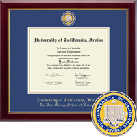 Church Hill Classics Masterpiece Diploma Frame. The Paul Merage School of Business (Online Only)