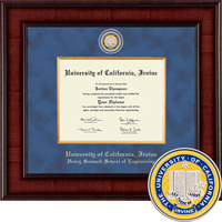Church Hill Classics Presidential Diploma Frame. Henry Samueli School of Engineering (Online Only)