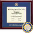 Church Hill Classics Masterpiece Diploma Frame. Henry Samueli School of Engineering (Online Only)