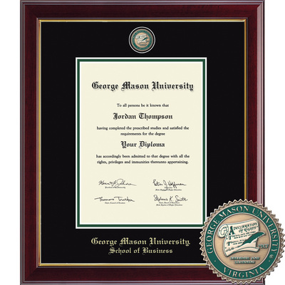 Church Hill Classics Masterpiece Diploma Frame. School of Business(Online Only)