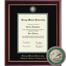 Church Hill Classics Masterpiece Diploma Frame. Volgenau School of Engineering (Online Only)