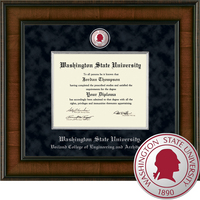 Church Hill Classics Presidential Diploma Frame. Engineering and Architecture (Online Only)