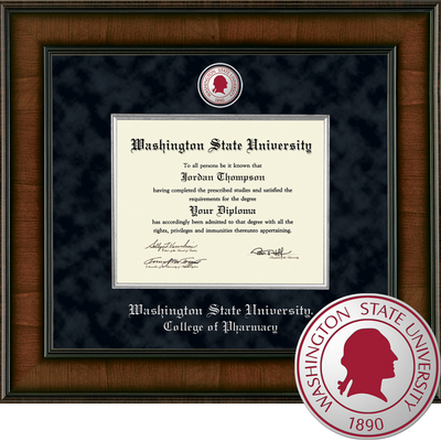 Church Hill Classics Presidential Diploma Frame.  College of Pharmacy (Online Only)