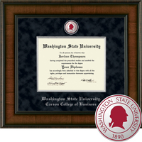 Church Hill Classics Presidential Diploma Frame.  Carson College of Business (Online Only)