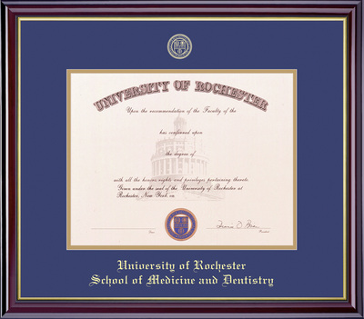 University Of Rochester Bookstore Framing Success Windsor Diploma