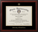 JOSTENS MERIDIAN DOCTOR DIPLOMA FRAME IN MATTE MAHOGANY