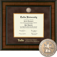 Church Hill Classics Presidential Diploma Frame. Cummings School, Veterinary Medicine (Online Only)