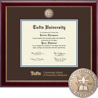 Church Hill Classics Masterpiece Diploma Frame. Cummings School, Veterinary Medicine (Online Only)
