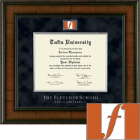 Church Hill Classics Presidential Diploma Frame. Fletcher School of Law and Diplomacy (Online Only)