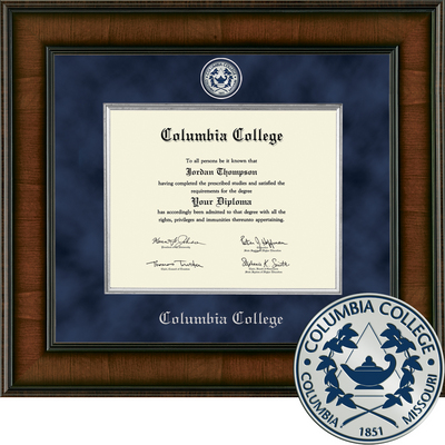 Church Hill Classics Presidential Diploma Frame.  Associates Bachelors Masters (Online Only)