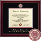 Church Hill Classics Masterpiece Diploma Frame.  Robert H. McKinney School of Law (Online Only)