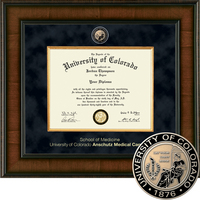 Church Hill Classics Presidential Diploma Frame.  Medicine (Online Only)