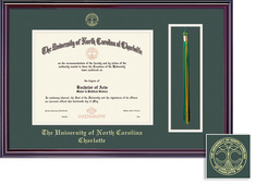 Framing Success Elite DiplomaTassel Double Matted Diploma Frame