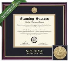 Framing Success Windsor Diploma Frame. Law
