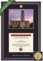Framing Success Windsor Double Diploma Frame. Bachelors, Masters