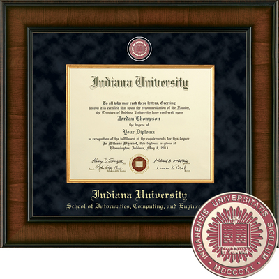 Church Hill Classics Presidential Diploma Frame. Informatics, Computing, Engineering  (Online Only)