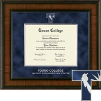Church Hill Classics Presidential Diploma Frame.  Fuchsberg Law (Online Only)