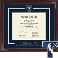 Church Hill Classics Showcase Diploma Frame.  Fuchsberg Law (Online Only)