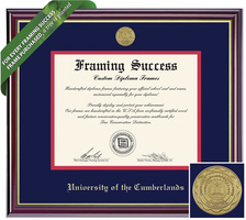 Framing Success Windsor Diploma Frame. Doctorate