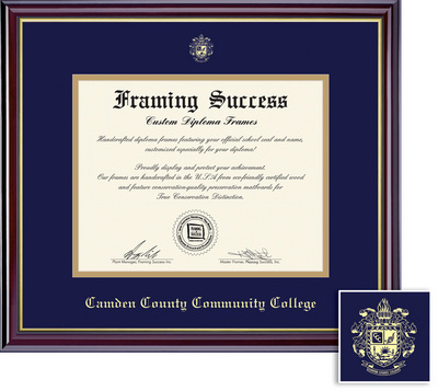 Camden County College Bookstore Framing Success Windsor Diploma