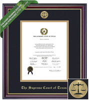 Framing Success Windsor Diploma Frame. Supreme Court