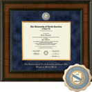 Church Hill Classics Presidential Diploma Frame.  Social Work (Online Only)