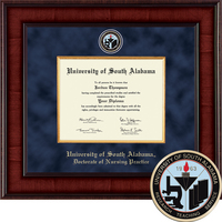 Church Hill Classics Presidential Diploma Frame. Nursing PhD
