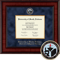 Church Hill Classics Presidential Diploma Frame. Physcial Therapy PhD (Online Only)