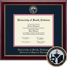 Church Hill Classics Masterpiece Diploma Frame. Physical Therapy PhD