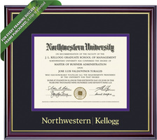 Framing Success Windsor Diploma Frame. Kellogg