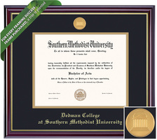 Framing Success Windsor Dedman College Diploma Frame. Bachelors