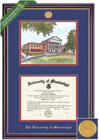 Framing Success Windsor Diploma and Litho Frame. Bachelors, Masters