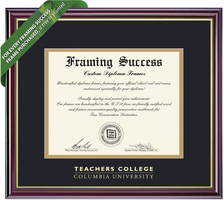 Framing Success Windsor Diploma Frame. Teachers