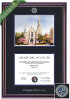 Framing Success Jeffersion Diploma & Litho Frame. Law, MD, Doctorate