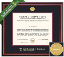 Framing Success Classic Diploma Frame. Business