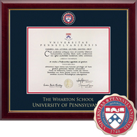 Church Hill Classics Masterpiece Diploma Frame. Wharton Business