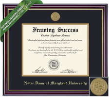Framing Success Windsor Diploma Frame. PhD