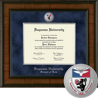Church Hill Classics Presidential Diploma Frame.  Law.  PhD (Online Only)
