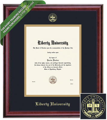 Framing Success Classic Diploma Frame.Masters, PhD