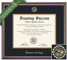 Framing Success Academic Diploma Frame. Associates