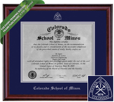 Framing Success Classic Diploma Frame. Metal