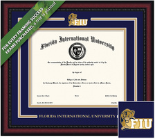 Framing Success Legacy Diploma Frame. Masters, Doctorate