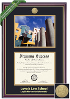 Framing Success Windsor Diploma & Photo Frame. Law