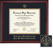 Framing Success Classic Double Matted Diploma Frame in a Burnished Cherry Finish