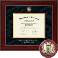Church Hill Classics Presidential Diploma Frame.  Honors College (Online Only)